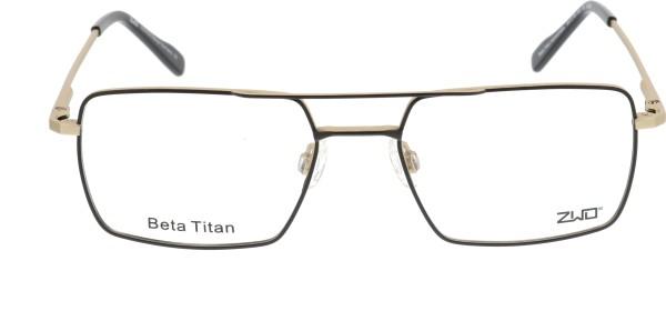 ZWO Heimatliebe Herren Titanbrille schwarz gold