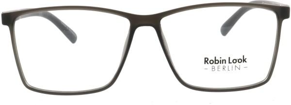 Robin Look Kollektion Herren Kunststoffbrille eckig schwarz anthrazit 028