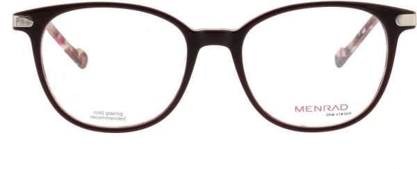 Menrad Kunststoff Damenbrille florales Muster 12008