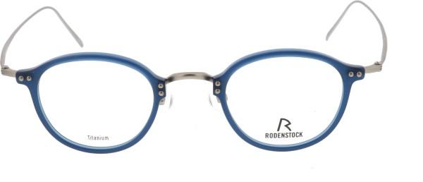 tolle kleine Herrenbrille Rodenstock Pantoform blau 7059