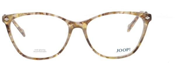JOOP Damen Kunststoffbrille braun beige transparent 82054
