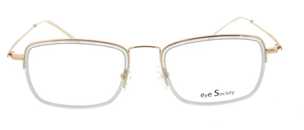 Eye Society Unisex Brille gold