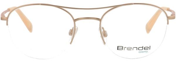 elegante Eschenbach Brendel Damen Metall Halbrandbrille rosé 902256