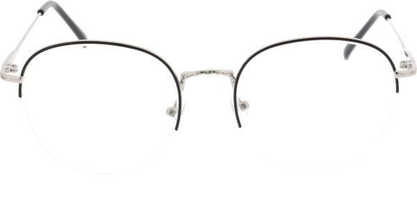 Sunoptic Unisex Pantobrille silber schwarz 930
