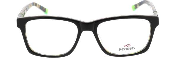 Genesis Unisex Kunststoffbrille schwarz bunt