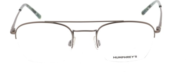 Humphreys Unisex Halbrand Metallbrille grau 582274