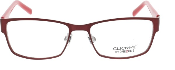 One 2 One Damen Metallbrille rot Click me 311