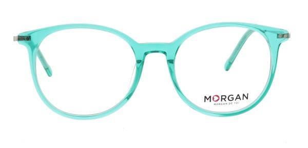 Morgan Damen Kunststoffbrille Pantostyle türkis 202020