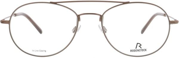 Retro Herren Pilotenbrille aus Metall von Rodenstock in bronze 2619A