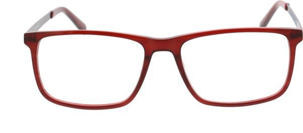 Sunoptic Unisex Kunststoffbrille rot AC33