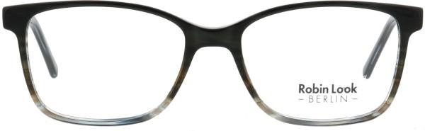 Robin Look Kollektion Unisex Kunststoffbrille schwarz blau transparent UNX008