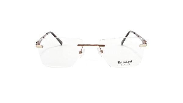 Robin Look Herrenbrille Metall Randlos RL-169-02