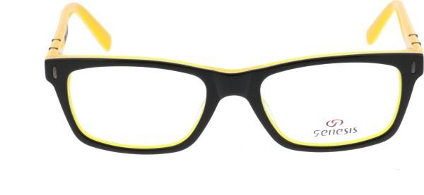Unisex Brille Genesis schwarz gelb GV1428