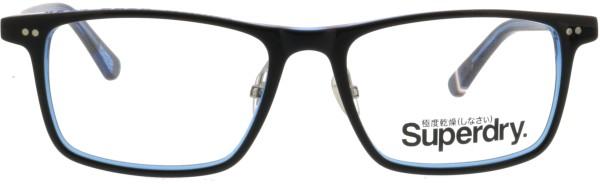 stylische Herren Kunststoffbrille von Superdry Orson in schwarz blau 189