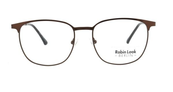 Robin Look Kollektion Unisex Metallbrille havanna braun UN741