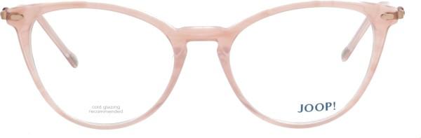 Joop Damen Kunststoffbrille Schmetterlingsform rosa 82070