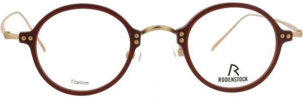 tolle kleine Unisex Brille Rodenstock Pantoform braun 7061