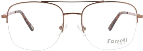 angesagte Herren Metall Nylorbrille mit Doppelsteg von forseti in roségold 2911
