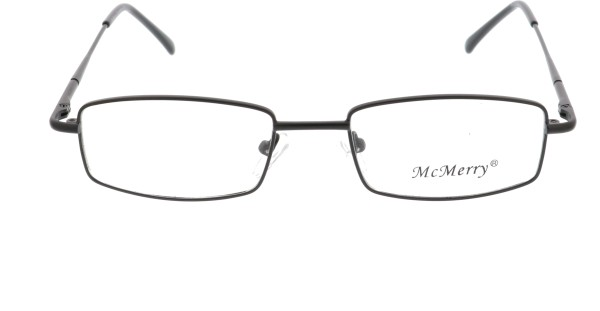 Mc Merry Unisex Metallbrille schwarz M104