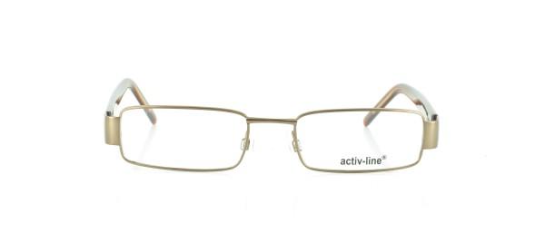 Activ-Line Brille Metall Vollrand AL-4140-A