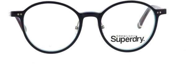 Superdry Delaney 189 Unisex Brille Pantostyle dunkelblau