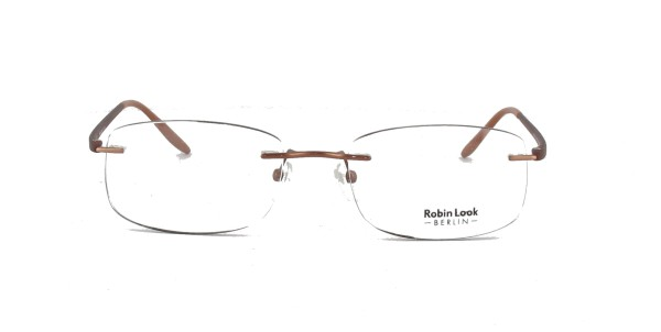 Robin Look Herrenbrille Metall Randlos RL-121-02