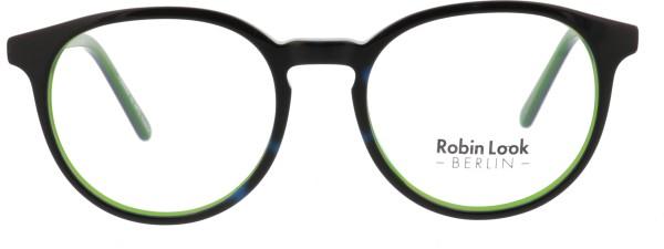 Robin Look Kollektion Damen Kunststoffbrille schwarz grün 010