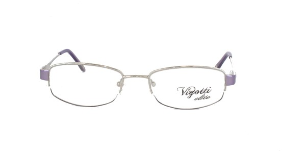 Vigotti Elite Damenbrille Metall Halbrand VE-1261-08