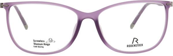 elegante Rodenstock Damen Titanbrille lila matt RD 7038