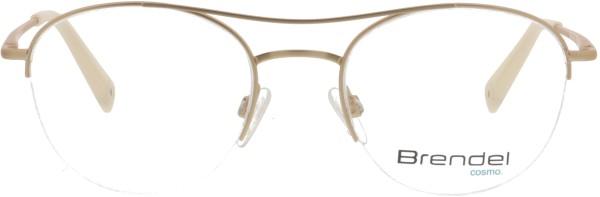elegante Eschenbach Brendel Damen Metall Halbrandbrille gold 902256
