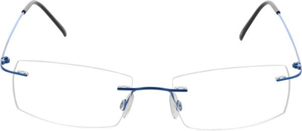 Breitfeld und Schlieckert Titanbrille randlos blau