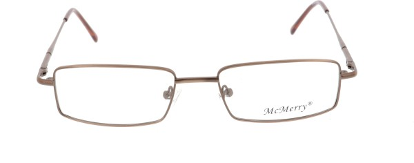 Mc Merry Herren Metallbrille braun 108