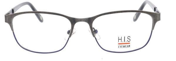 HIS Unisex Metallbrille blau anthrazit 937
