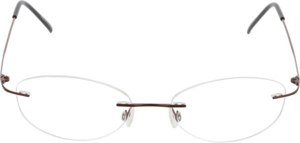 Breitfeld&Schlieckert Unisex randlose Titanbrille braun