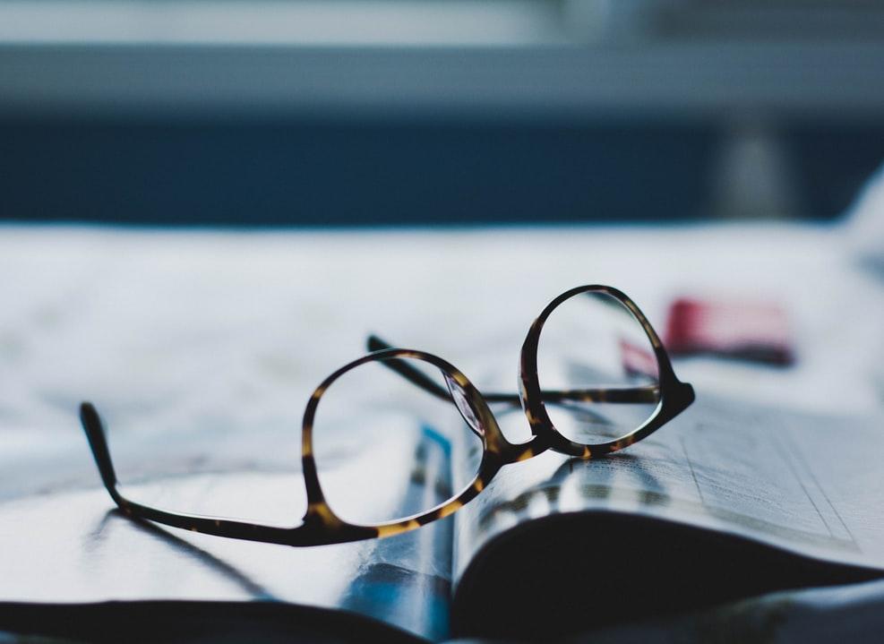 Brille-Gleitsicht