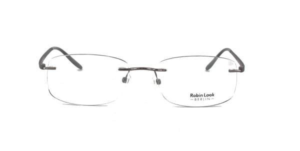 Robin Look Herrenbrille Metall Randlos RL-121-01