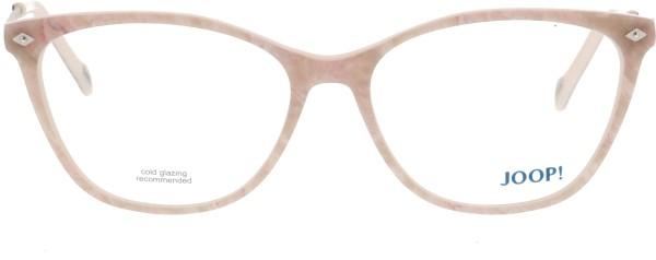 Joop Damen Kunststoffbrille Schmetterlingsform rosa 82054