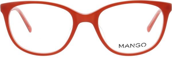 hübsche Mango Damenbrille Schmetterlingsform in rot 186353