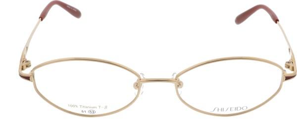 Shiseido Damenbrille Titan gold