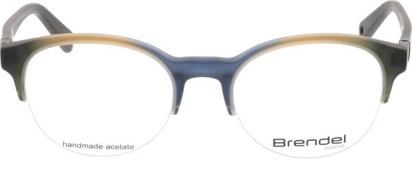 Eschenbrach Brendel Halbrand Unisex Brille blaugrau