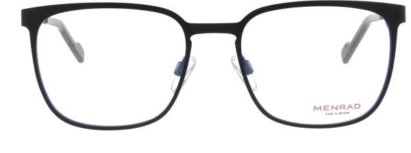 Menrad Herren Metallbrille quadratisch schwarz blau 13399