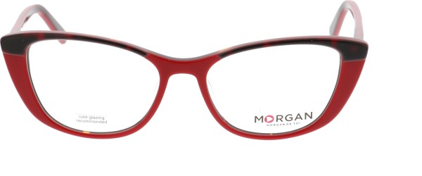 Morgan Damenbrille Cateye rot 201129