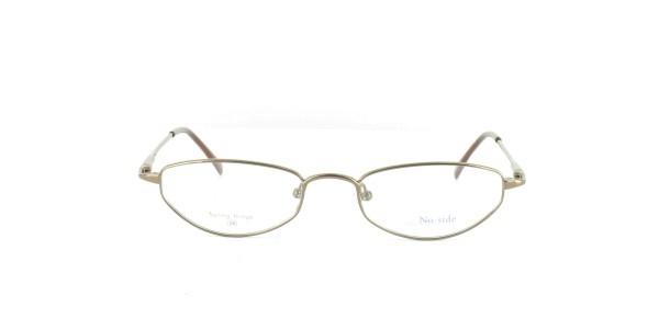 No Side Damenbrille Metall Vollrand TT-4043-05