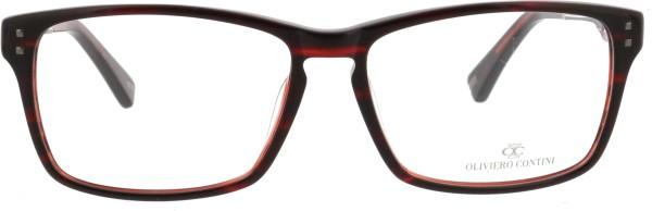 Oliviero Contini Unisex Kunststoffbrille schwarz rosa 4156