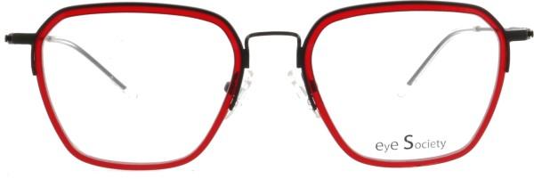 hübsche Eye Society Damen Brille rot schwarz 13-02