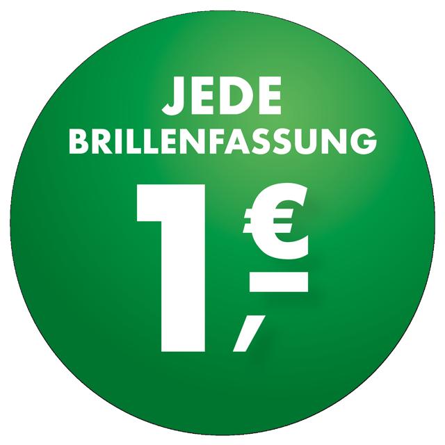 Jede Fassung 1 Euro!