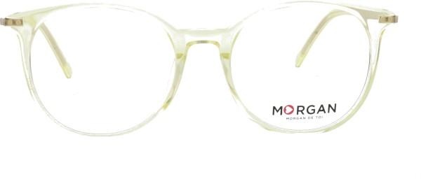 Morgan Damen Kunststoffbrille gelb transparent 202020