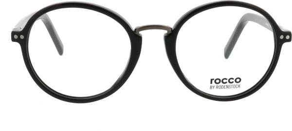 Rodenstock Marke Rocco Unisex Brille schwarz 455A
