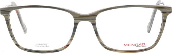 schöne Damen Menrad Brille in Holzoptik braun grau 11070
