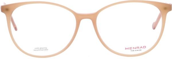 wunderschöne Menrad Damen Kunststoffbrille Pantoform in beige 11124
